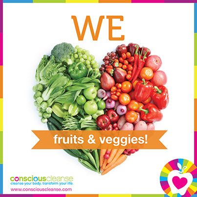 We Heart Fruits and Veggies