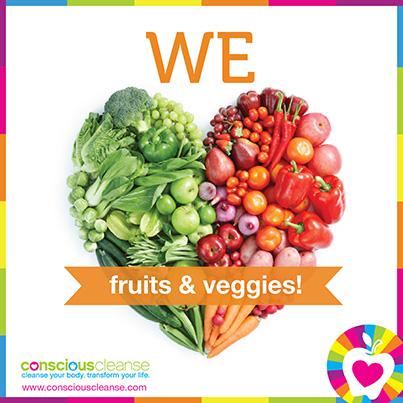 We Heart Fruits and Veggies