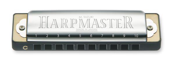 Suzuki Harpmaster MR-200-C Harmonica Key of C