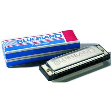 Hohner Bluesband Harmonica (Key of C)