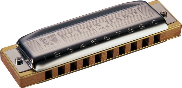 Hohner Blues Harp Harmonica (H532), Key of C