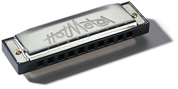 Hohner Hot Metal Harmonica (H572), Key of C