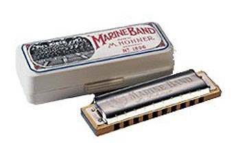 Hohner Marine Band Harmonica (H1896), Key of C