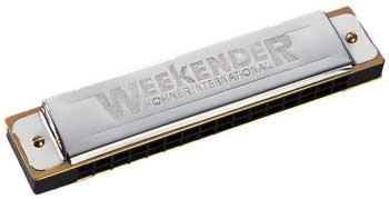 Hohner Weekender Harmonica (H114), Key of C