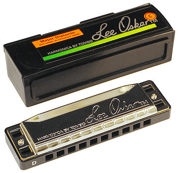 Lee Oskar Major Diatonic Harmonica Key of C