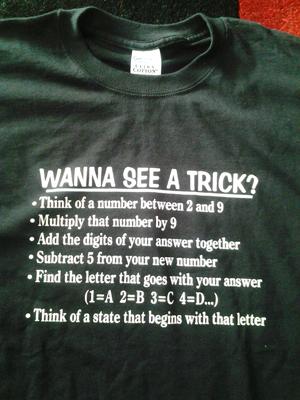 Delaware Magic Trick T-Shirt