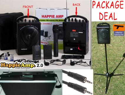 Happie Amp 2.0 package deal