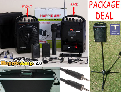 Happie Amp 2.0 package deal rent2own