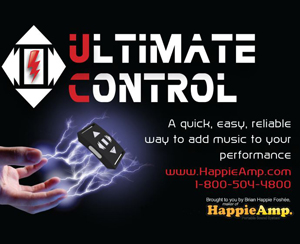 Ultimate Control (mp3 player with radio frequency remote)