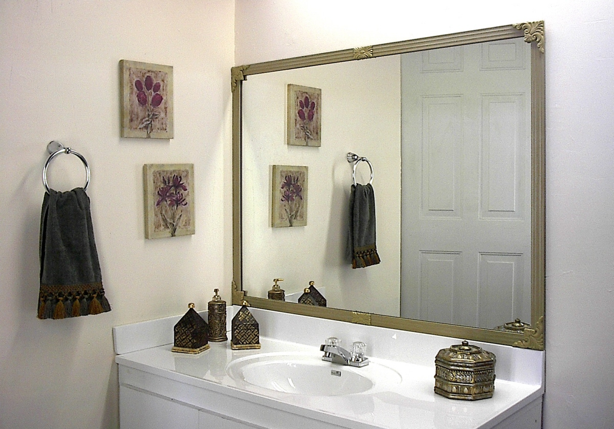 Mirredge Diy Mirror Framing Kit Up To 75 In X 36 In Regal Birch Decorative Millennium