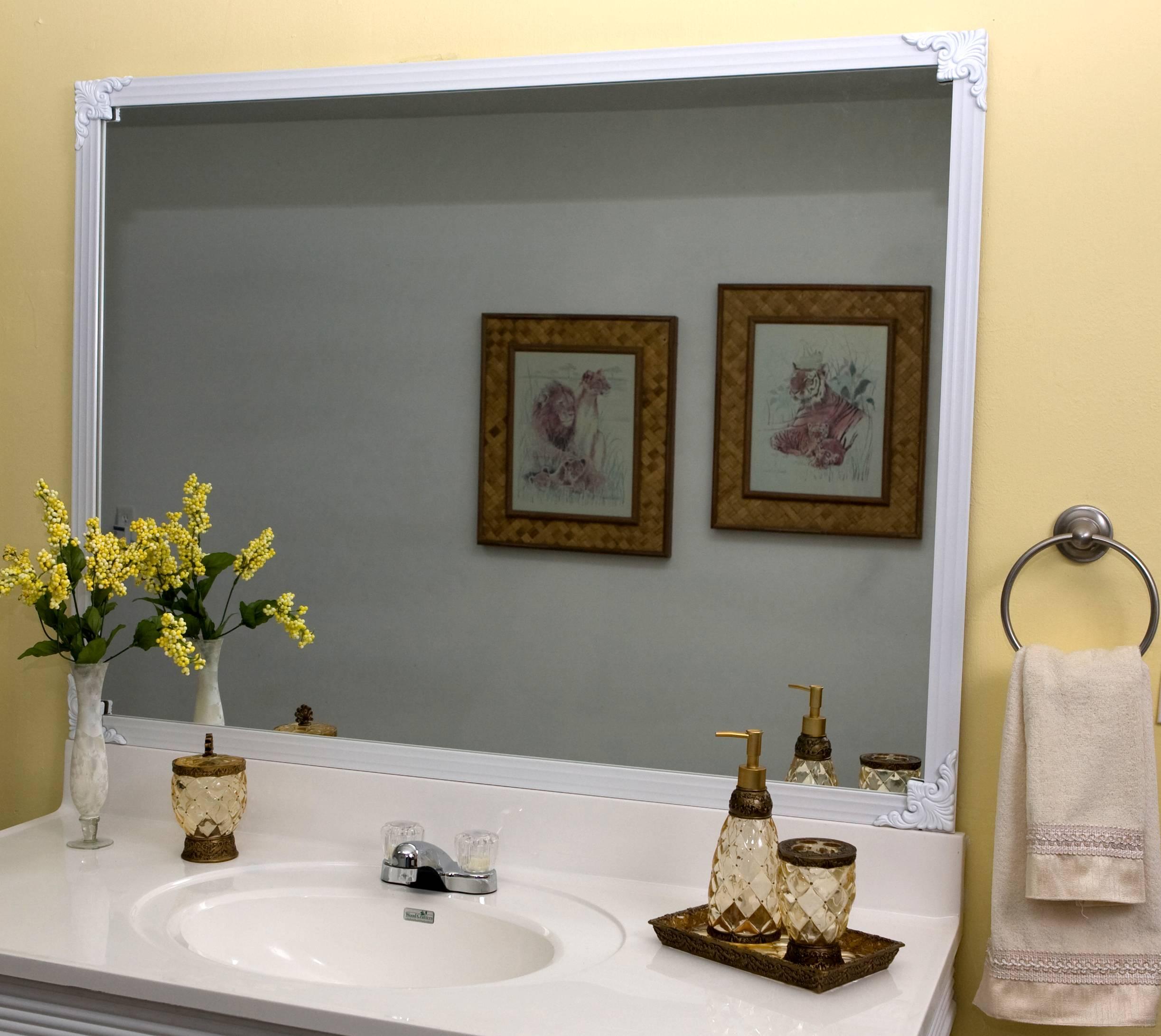 Mirredge Diy Mirror Framing Kit Up To 75 In X 72