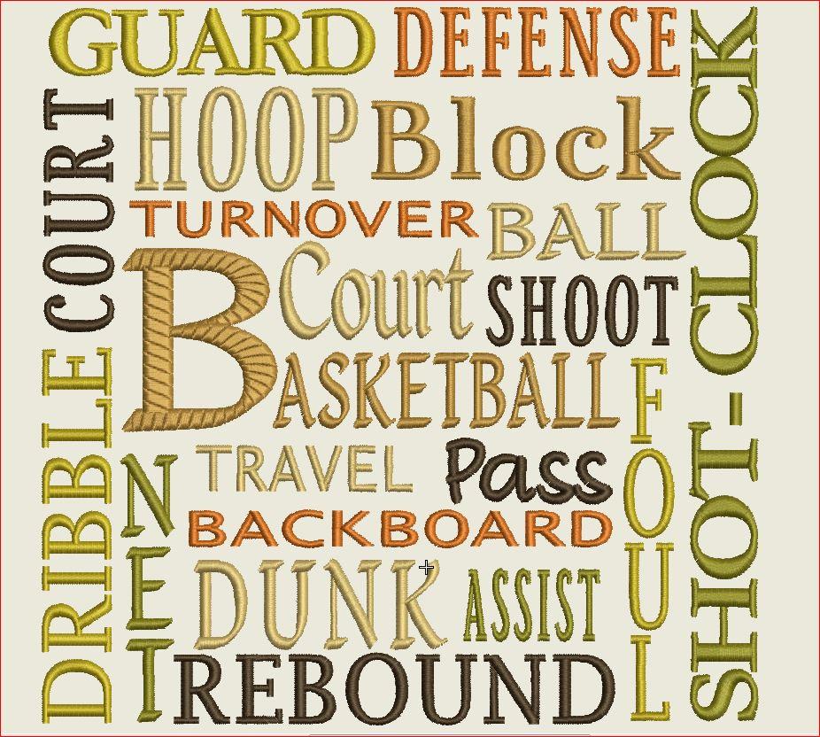 Basketball Words