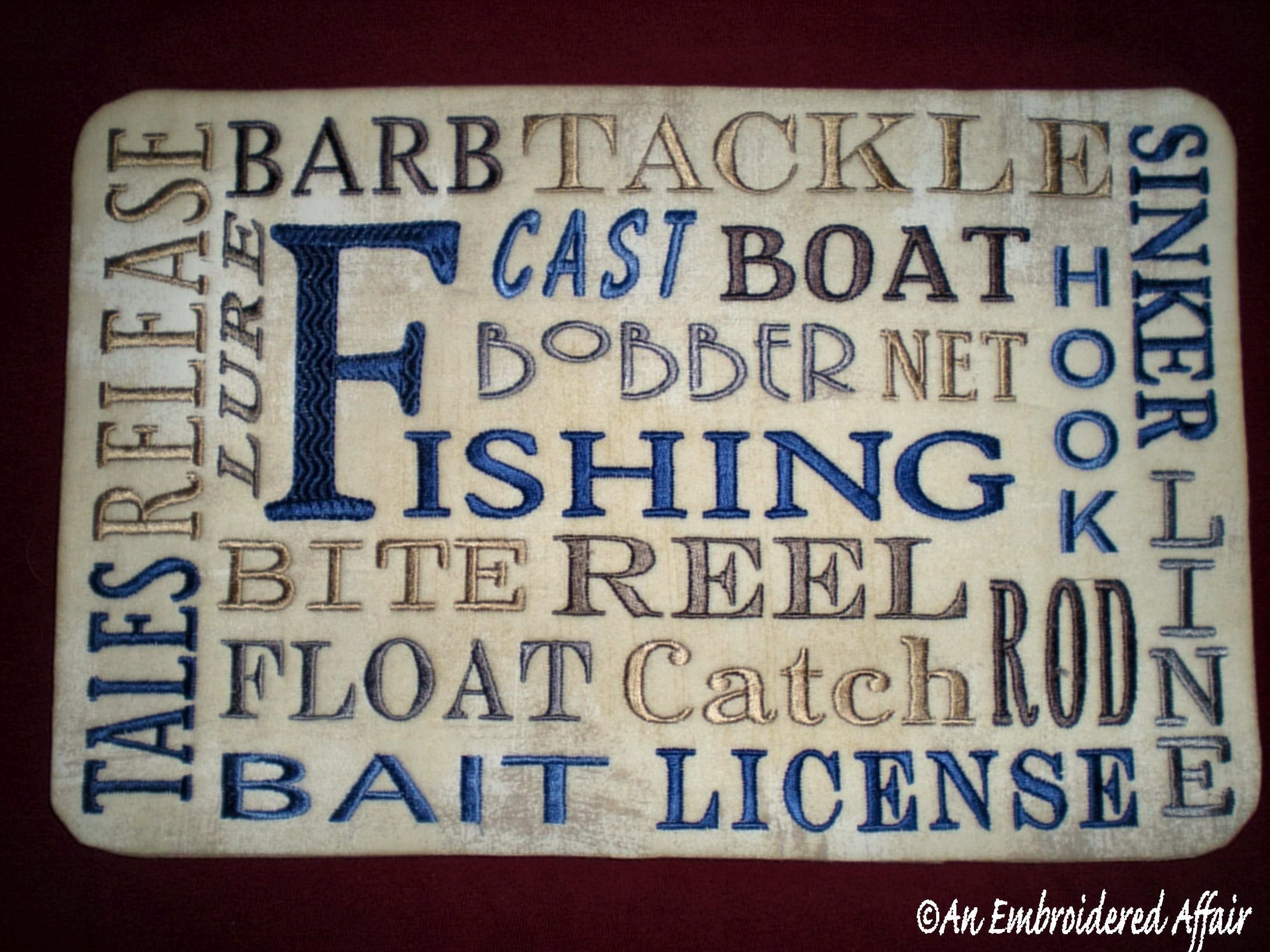 Fishiing Words