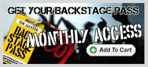 Backstage Pass - Monthly Subscription