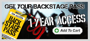 Backstage Pass - Yearly Subscription