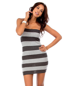 04623df9e5 Mia Striped Tube Top Sweater Dress Top - Mystique Boutique