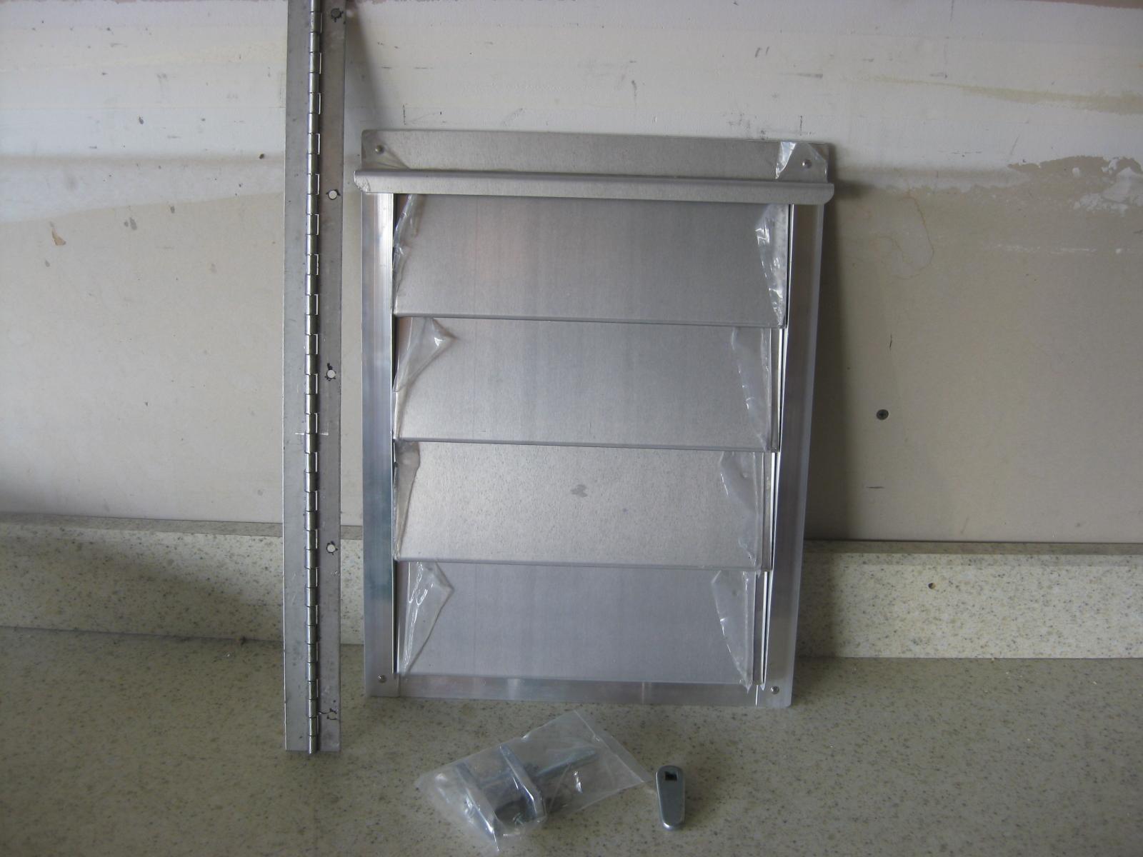 12 4 Smooth Aluminum Door Kit Dog Box Parts