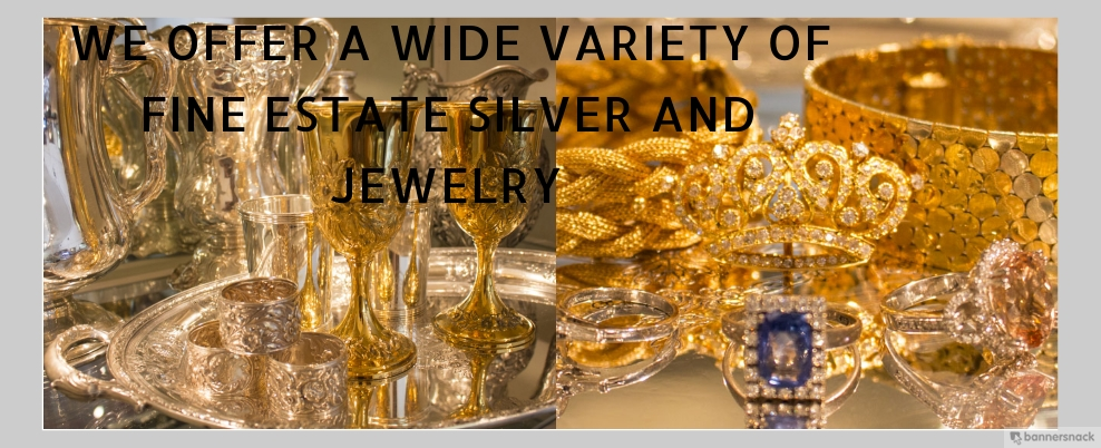 We offer a wide variety of fine estate and antique jewelry.