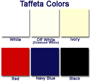 Laceeis Taffeta Color Options