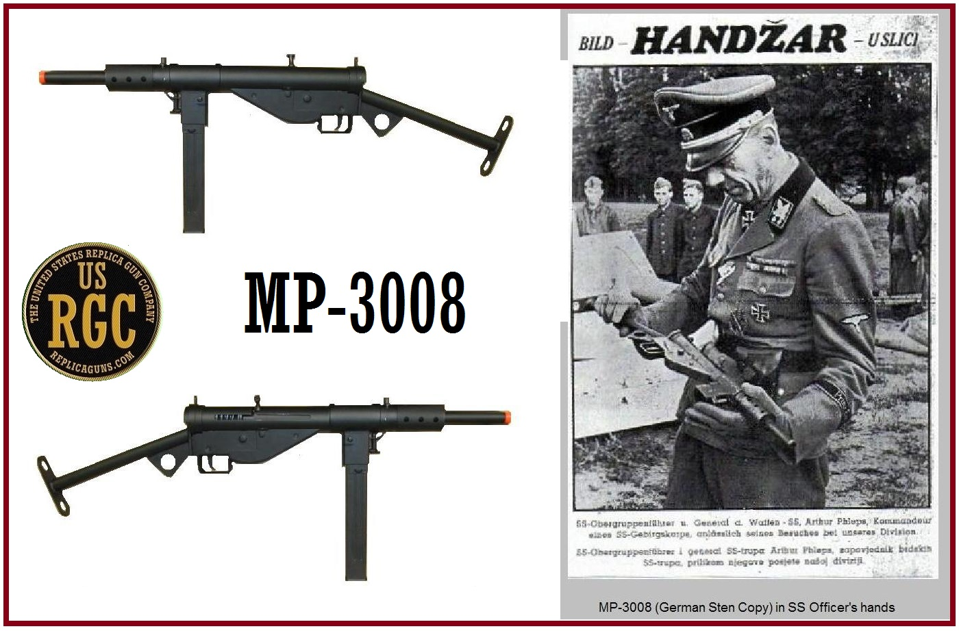 Guns of ww2 german