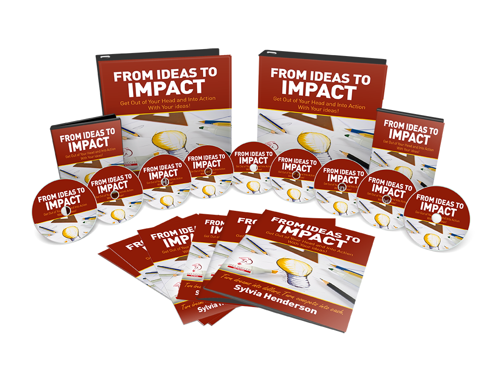 DVD Set + Book: From Ideas to IMPACT (As Seen on TV - 12 Module Program (6 ICF CEU Credits)