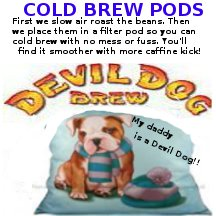 cold brew front label.