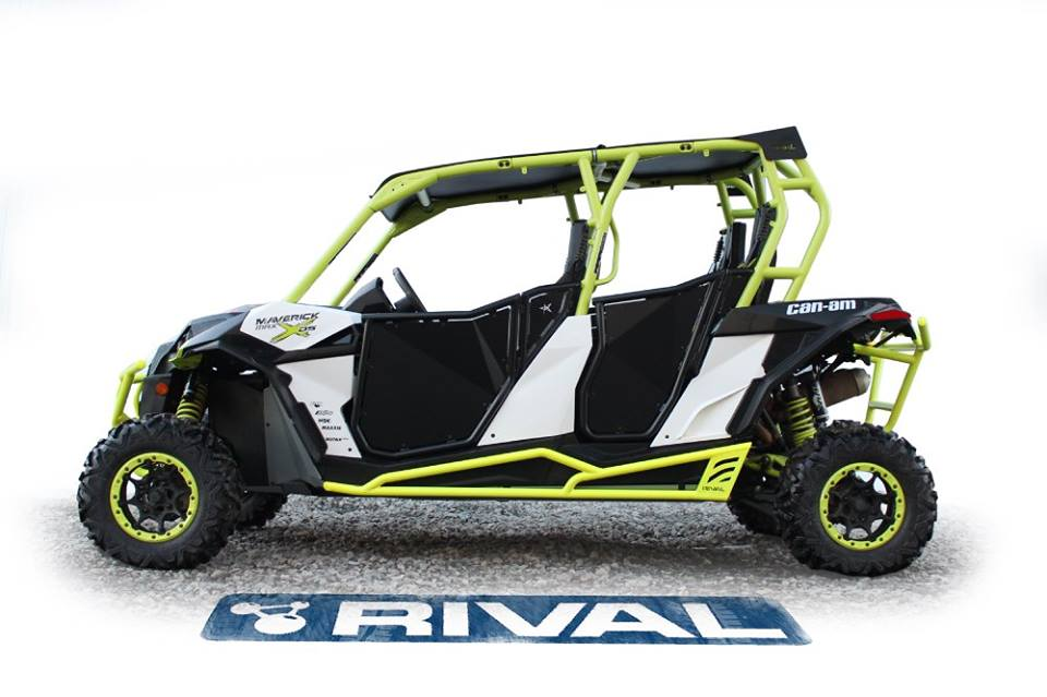 Rival Rock Sliders For Can Am Maverick Max 1000 Ds 2017 2016