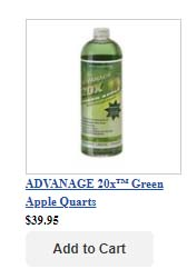 Quarts - Green Apple