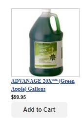 Gallons - Green Apple