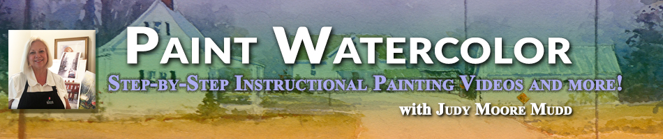 Welcome to Paint Watercolor!  Online lessons and workshops