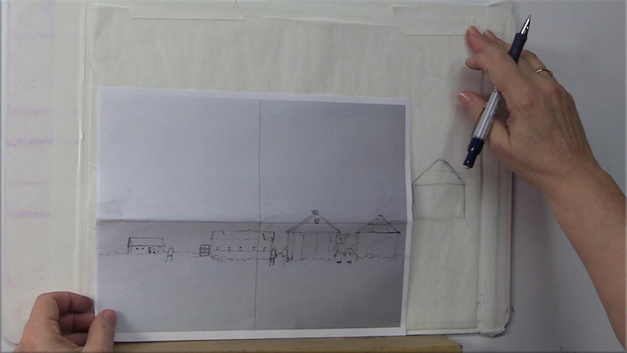 Drawing Assist video by Judy Mudd