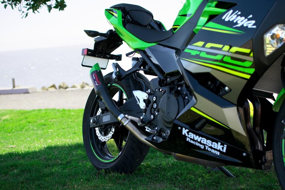Kawasaki Ninja 400 / Z400 (2018-2019) Shorty Exhaust - Coffman's