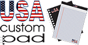 USA Custom Pad Corp, logo