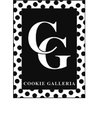 Cookie Galleria, Footer logo