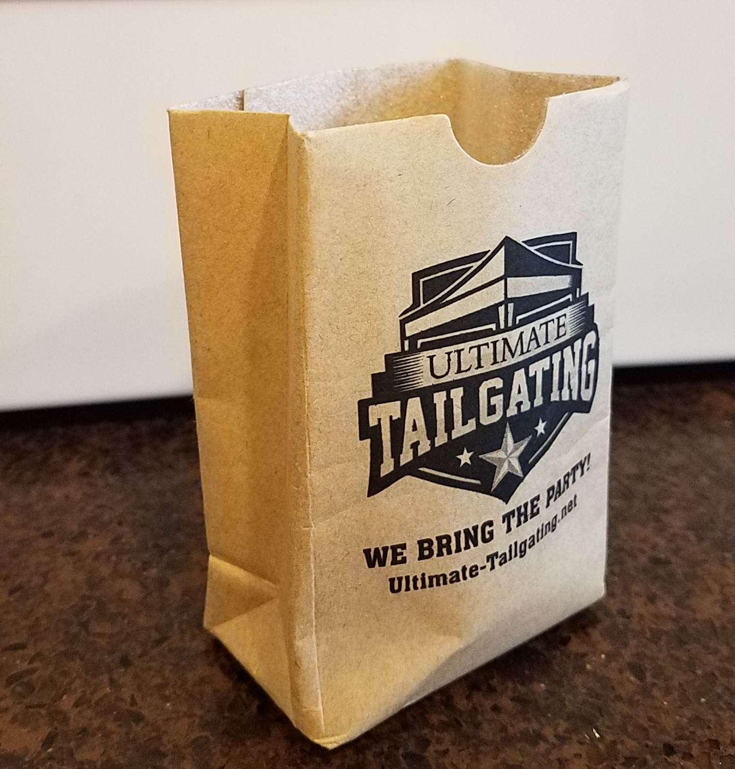 Brown Bag Koozie Small Qty 6 Ultimate Tailgating Team Shop